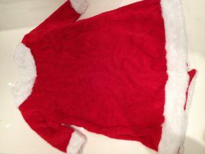 Kostüm Weihnachtsmann Nikolaus Maskottchen 198j Promotion Lauffigur Walking Act Plüsch Hochwertig günstig