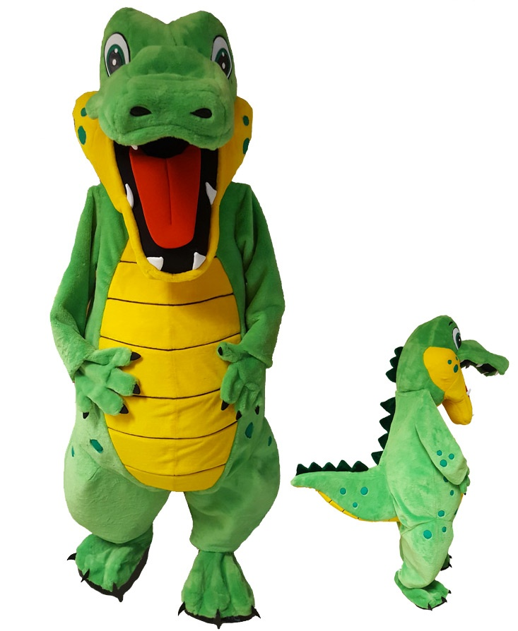 Krokodil Kostüm Promotion Maskottchen (268c) Lauffigur