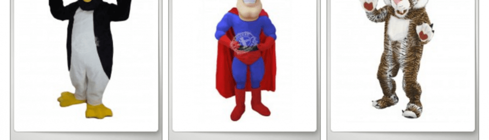 Schulmaskottchen Kostüme