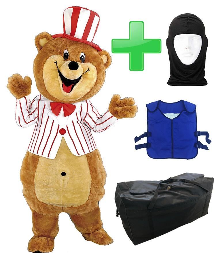Bären Kostüm 156b als Maskottchen günstig kaufen