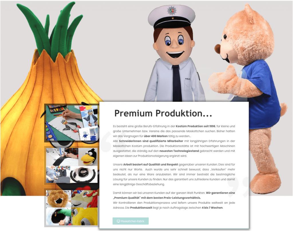Die Hersteller für Kostüme Maskottchen in professioneller Produktion. Jetzt günstig Ihre Individuelle Vorlage produzieren lassen!