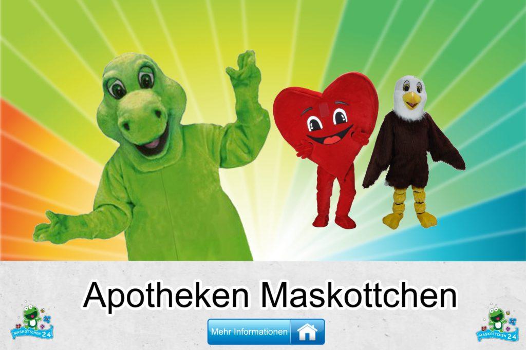 Apotheken Maskottchen Kostüm Produktion günstig kaufen