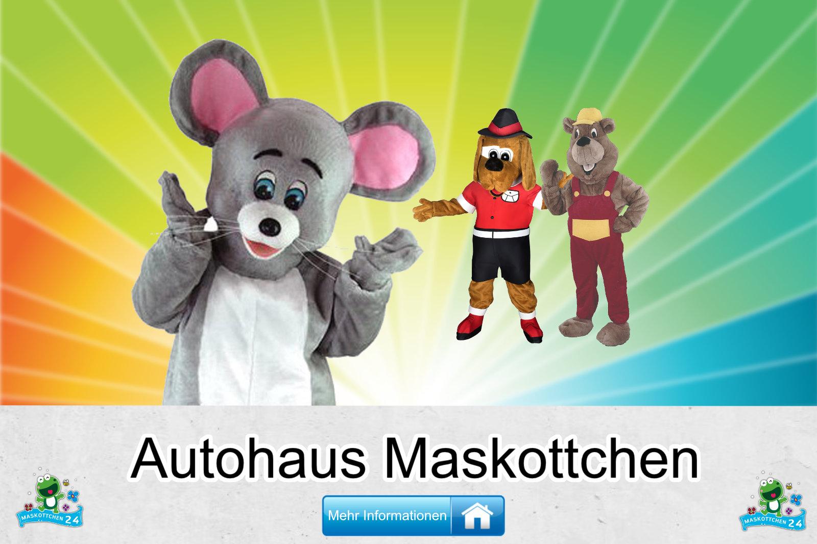 Autohaus Maskottchen Kostüm Produktion günstig kaufen
