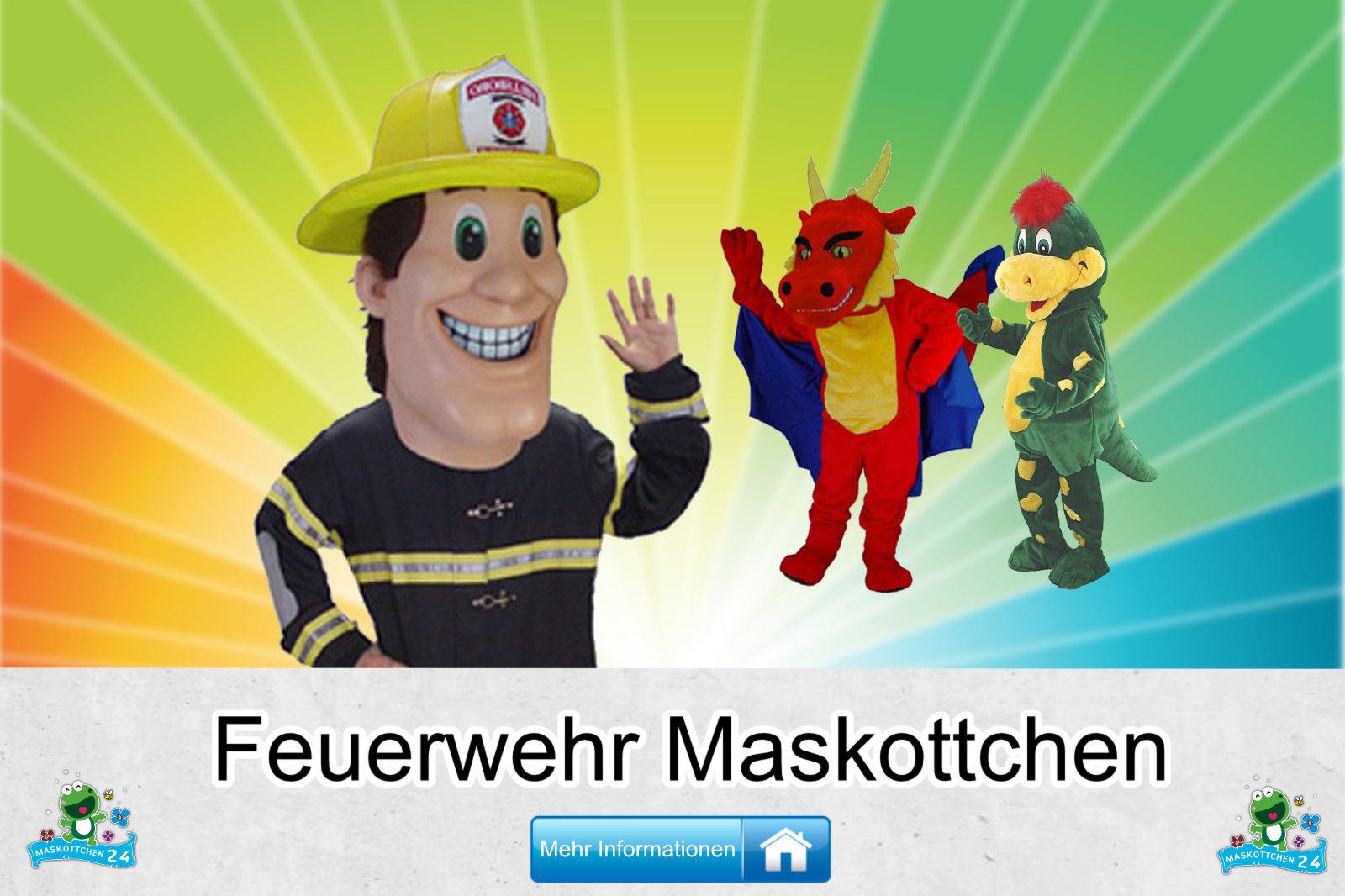 Feuerwehr Kostüme Maskottchen Herstellung Firma günstig kaufen