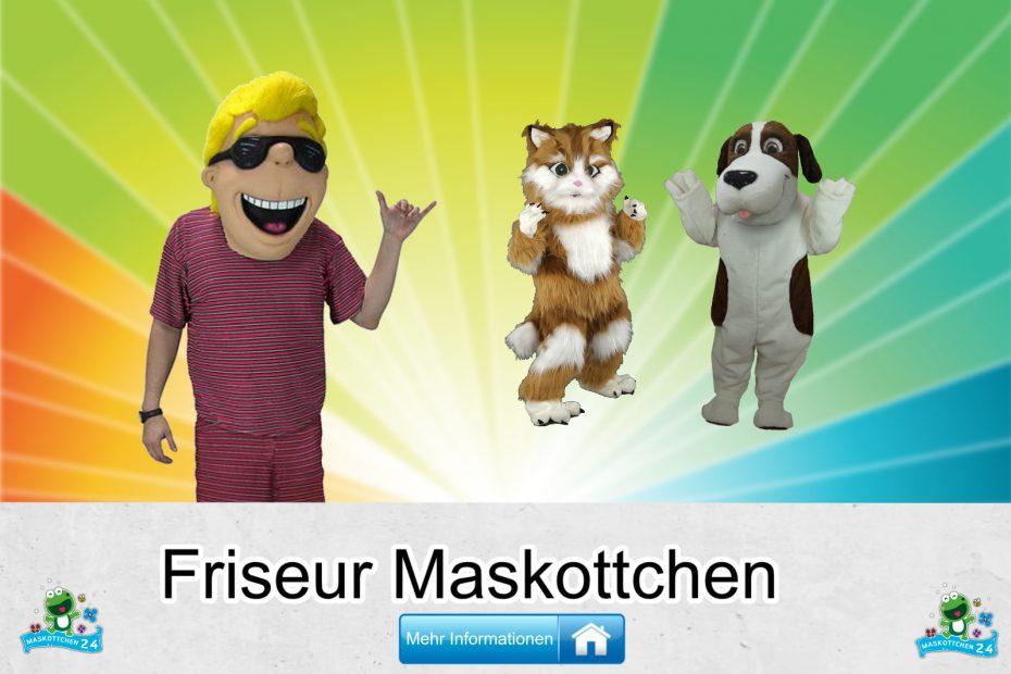 Friseur Kostüme Maskottchen Karneval Produktion Firma Bau