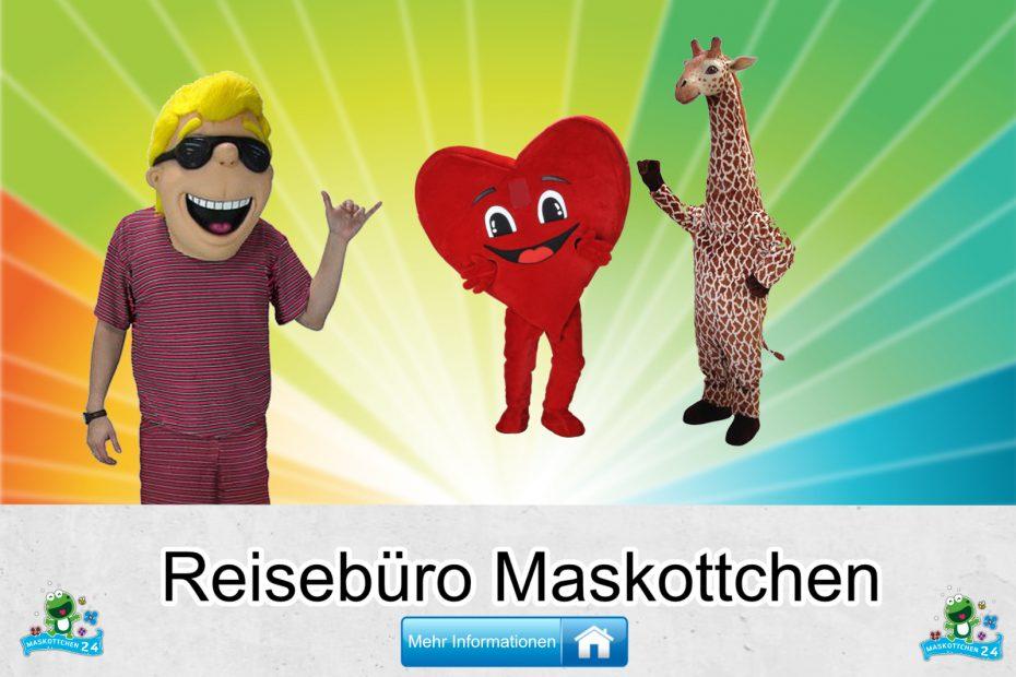 Reisebüro Kostüme Maskottchen Karneval Produktion Firma Bau