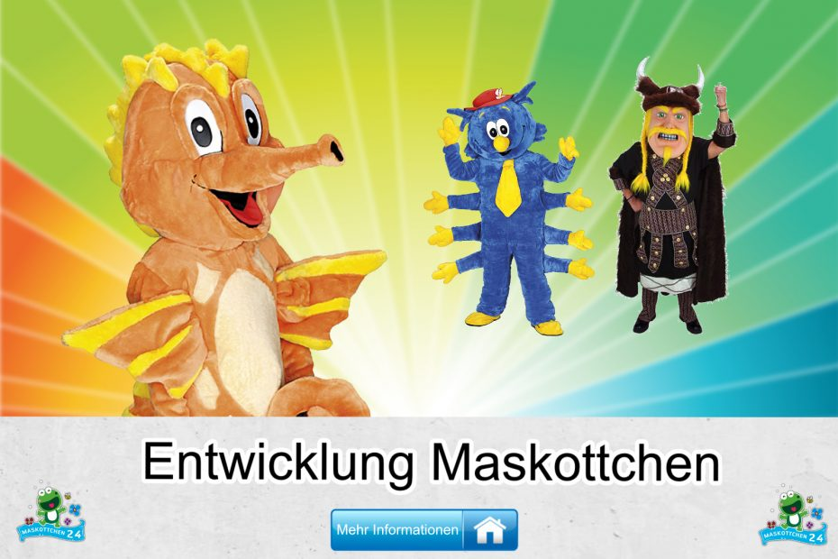 Entwicklung-Kostueme-Maskottchen-Karneval-Produktion-Firma-Bau